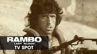 "Rambo: Last Blood (2019 Movie) Official TV Spot ""LEGACY"" — Sylvester Stallone"