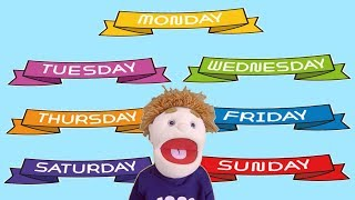 CHILDREN'S DAYS OF THE WEEK SONG | MONDAY TO SUNDAY | LEARN THE DAYS | My Week - Dj Kids Music