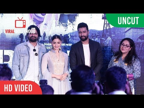 UNCUT - Ae Watan Song Launch | Raazi | Alia Bhatt, Vicky Kaushal. Arijit Singh thumbnail