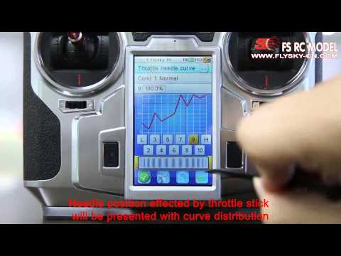 Flysky Transmitter FS-i10 Function Video  Demo