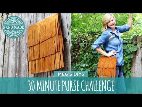 30 Minute Purse Challenge Part 2 - HGTV Handmade