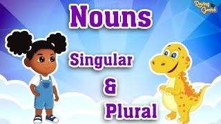 Singular & Plural Nouns by Adding S | English Grammar For Kids with Elvis | Grade 1 | #8