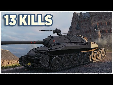 IS-7 • KILL ALL • WoT Gameplay