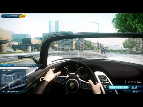 Need For Speed: Most Wanted 2012 Cockpit View / First Person Mod