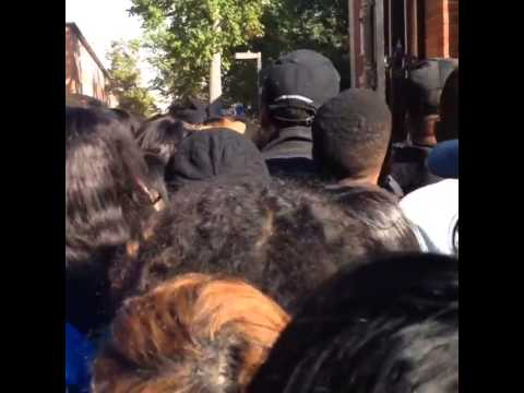 Several injured in a stampede at Howard University in Washington DC