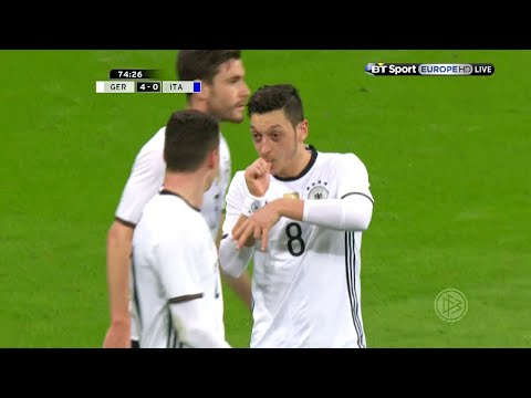 Mesut Özil vs Italy (Home) 15-16 HD 720p - English Commentary