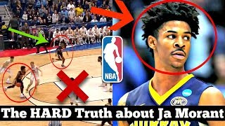 """The HARD Truth About NBA Prospect Ja Morant... Why he is the OFFICIAL """"Plan B"""" to Zion Williamson"""