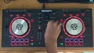 Numark mixtrack pro 3 short elecrto mix 2