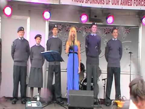 Kirsten Orsborn Singing  Tribute To Fallen Heroes,  Armed Forces Day Sunderland. video
