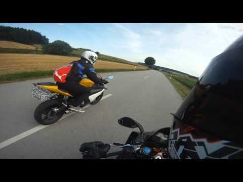 Aprilia rs 125 // Yamaha yzf r125 // Sommer Fun // [GoPro] HD