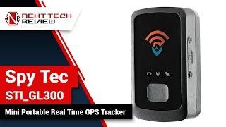 Spy Tec STI GL300 Mini Portable Real Time GPS Tracker Product Review  – NTR