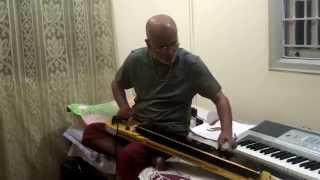 Bulbul - Kannada Song Karunada Thaayi(SPB-Naanu Nanna Hendti)on Bulbul Tarang/Banjo by Vinay M Kantak