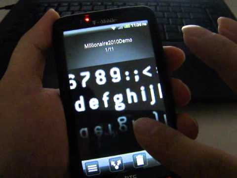 Darkstone Android FroyoSense V3.2 on HTC HD2 (T-mobile US)