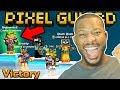 VICTORY! BEST FORT SIEGE GAME EVER!! | Pixel Gun 3D
