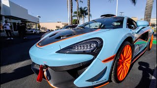 RARE 1 OF 10 MCLAREN MSOX SHOWS UP AT...