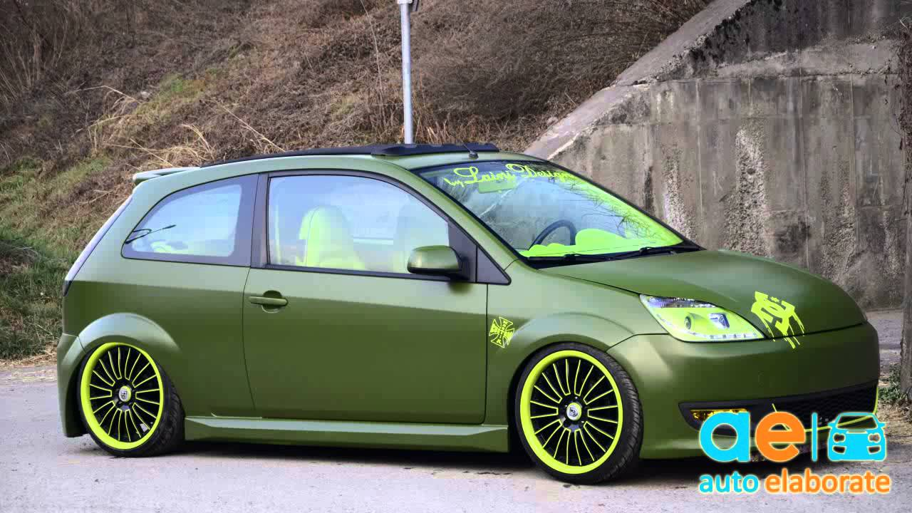 Carros Ford Fiesta Tuning Ford Ford Fiesta Mk6 Tuning