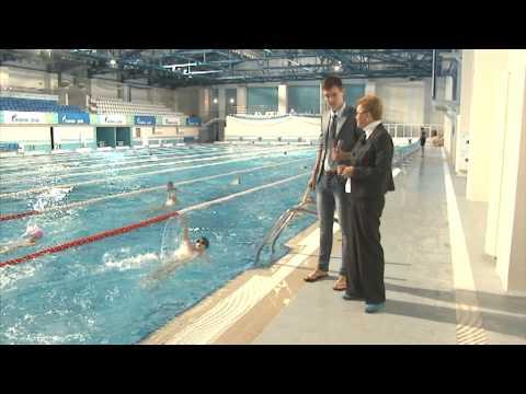 Упал в бассейн 05.09.13 Вятка Today