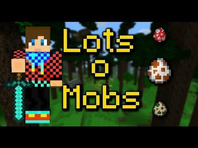 Minecraft - LotsOMobs Mod - #1 Dinosauri sú sexy !