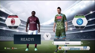 FIFA 14: Serie A Ratings & Kits