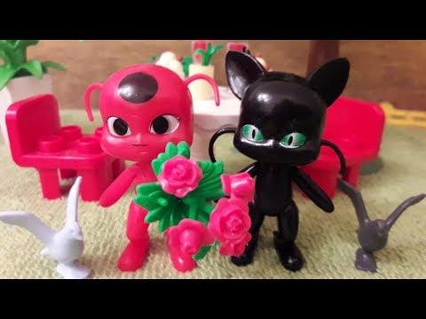 Тикки на романтическом свидании с Плаггом. Видео из игрушек Леди Баг и Супер-Кот
