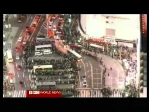 Japan 2011 Earthquake 1 - Overview - BBC World News America