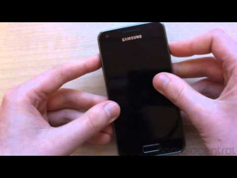 Hands-on with the Samsung Galaxy S Advance