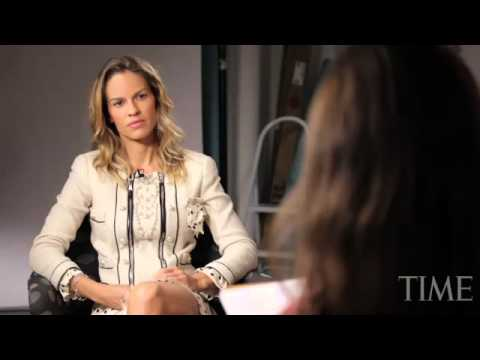 Hilary Swank interview