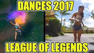 DANCE REFERENCES 2017 - LEAGUE OF LEGENDS ( Zoe, Ornn, Kayn, Rakan, Xayah, and Camille)