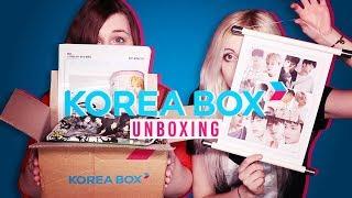 Ouça K-POP BOX ☆ Korea Box Unboxing