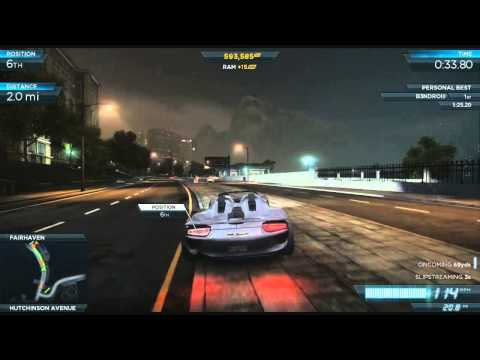 Need For Speed: Most Wanted - Gameplay Walkthrough Part 23 (NFS001)