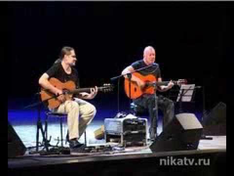 Hernan Romero&Roman Miroshnichenko guitar duo. TV-plot from the festival Guitar World '09