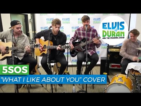 """5 Seconds of Summer - """"What I Like About You"""" Acoustic (Cover)   Elvis Duran Live"""