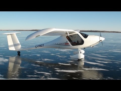 Urgent Landing on Frozen Lake