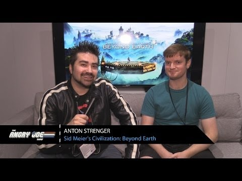 Civilization: Beyond Earth - Angry Interview E3 2014