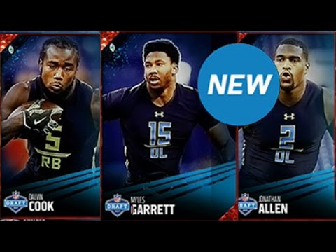 NFL DRAFT DAY!!!!!!   Live Reaction To NFL Draft Picks & Madden Ultimate Team Content
