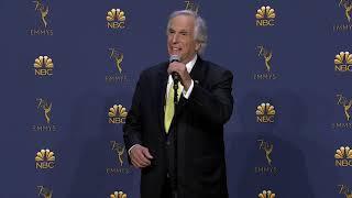 Henry Winkler - Emmys 2018 - Backstage Interview
