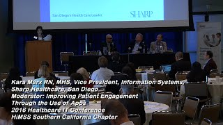 Panel: Improving Patient Engagement Through the Use of Apps