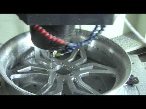 Mastercam Machines Motorcycle Wheels