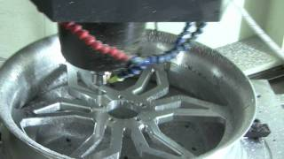 Mastercam Machines Motorcycle Wheels