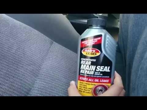 How to fix - Honda Civic Rear main seal oil leak repair