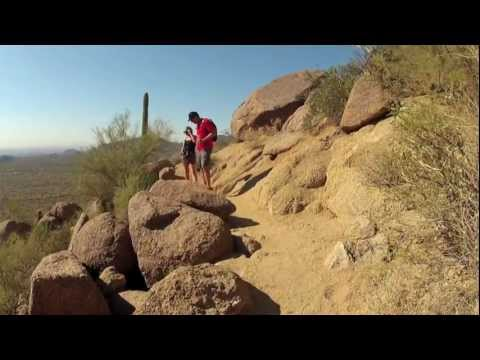 Usery Mountain Regional Park. Wind Cave Trail