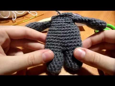 Как связать туловище для игрушки