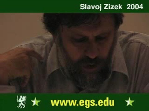 Slavoj Zizek. Plea for Ethical Violence. 2004 5/6