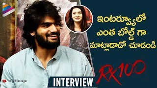 Kartikeya Makes SHOCKING Comments | RX 100 Interview | Payal Rajput | #RX100 | Telugu FilmNagar
