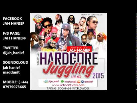 Jamaica Dancehall _ Hardcore Juggling 2015 live by JAH HANIEF (UK)