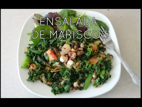 Ensalada De Mariscos en 10 Min.