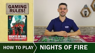 Nights of Fire  - Official How to Play video from Gaming Rules!