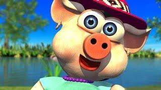 A Porquinha Foi Passear - A Fazenda do Zenon 3   O Reino das Crianças