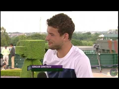 Grigor Dimitrov 'I'm an emotional guy' - Wimbledon 2014