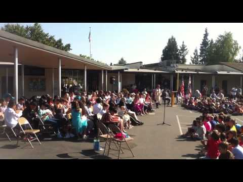 Graduation @ Huff Elementary School - June 2014